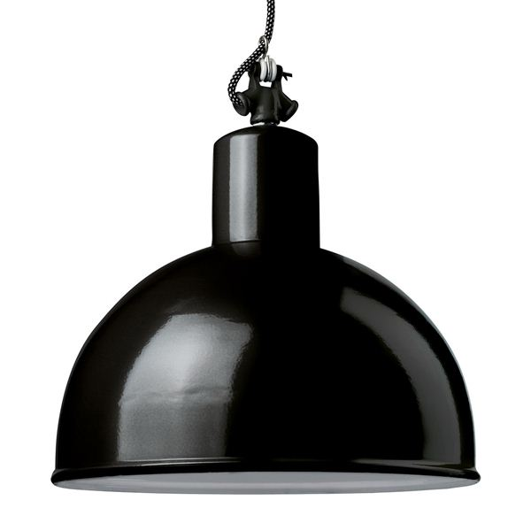 Narrow angle spotlight round 350 black