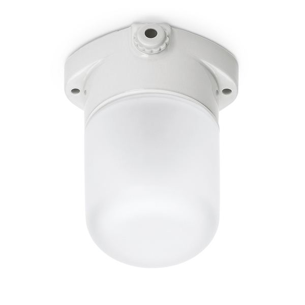 LISILUX sauna ceiling-mounted fitting with frosted glass 40/60 W