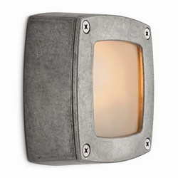Wall light aluminium natural