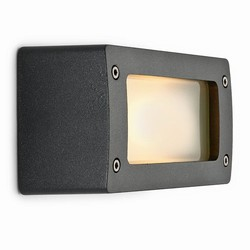 Block light aluminium graphite gray