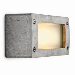 Block light aluminium natural