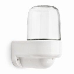 Sauna wall-mounted fitting with clear glass 60 W